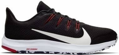 Nike Quest 2 - Black/White-anthracite-university Red (CI3787008)