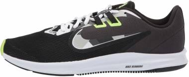 Nike Downshifter 9 - Black White Particle Gray Dk Smoke Gray (AQ7481012)