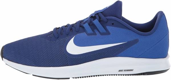 Nike Downshifter 9 - Multicolour Deep Royal Blue White Game Royal Black 400 (AQ7481400)