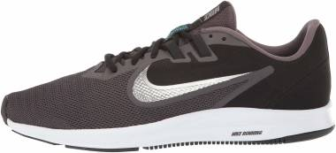 Nike Downshifter 9 - Thunder Grey/Metallic Pewter - Black (AQ7481008)