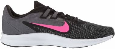 Nike Downshifter 9 - Black/Laser Fuchsia - Dark Grey (AQ7486002)