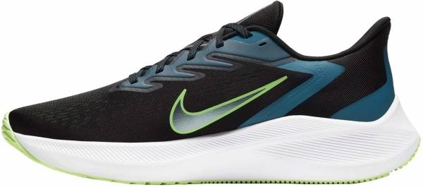 Nike Air Zoom Winflo 7 - Black / Vapor Green / Valerian Blue