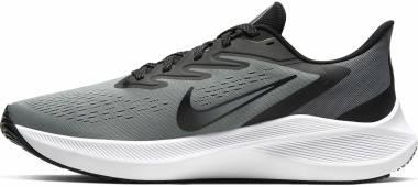 Nike Air Zoom Winflo 7 - Particle Grey/Black-white (CJ0298003)