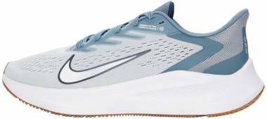 Nike Air Zoom Winflo 7 - Photon Dust / White / Obsidian / Ozone Blue (CJ0291008)