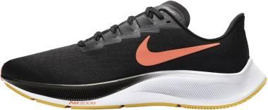 Nike Air Zoom Pegasus 37 - Black/Bright Mango-anthracite-white (BQ9646010)