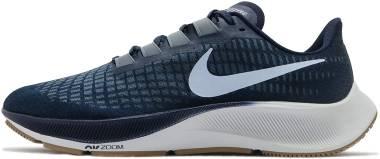 Nike Air Zoom Pegasus 37 - Obsidian Celestine Blue Ozone Blue Photon Dust Gum Lt Brown (BQ9646402)