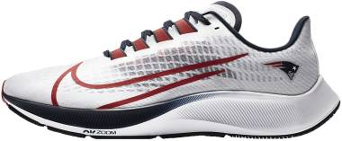 Nike Air Zoom Pegasus 37 - White Pure Platinum College Navy University Red (CZ5456100)