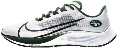 Nike Air Zoom Pegasus 37 - White Pure Platinum Sport Green Black (CZ5453100)