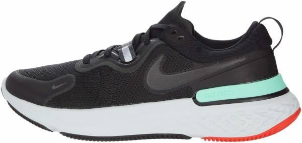Nike React Miler - Black / Black / Iron Grey / Green Glow (CW1777013)