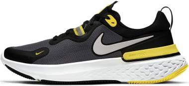 Nike React Miler - Black White Opti Yellow Dark G (CW1777009)
