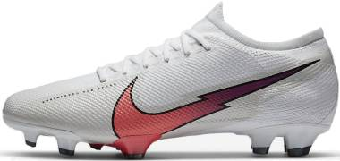 Nike Mercurial Vapor 13 Pro Firm Ground - White (AT7901163)