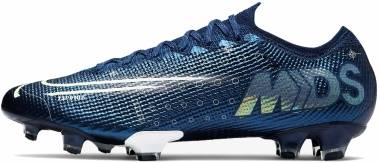 Nike Mercurial Vapor 13 Elite MDS Firm Ground - Blau (CJ1295401)
