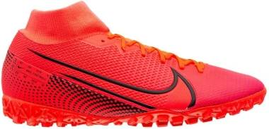 Nike Mercurial Superfly 7 Academy Turf - Laser Crimson Black Laser Crim (AT7978606)