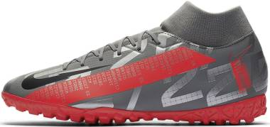 Nike Mercurial Superfly 7 Academy Turf - Grey (AT7978906)