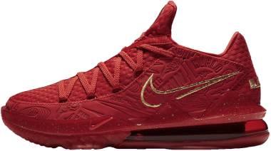 Nike Lebron 17 Low - University Red/Metallic Gold (CD5008600)