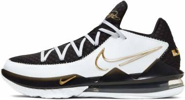 Nike Lebron 17 Low - Blanco Metallic Dorado Negro (CD5007101)