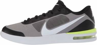 NikeCourt Air Max Vapor Wing MS - Negro Voltio Blanco (BQ0129007)