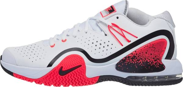 NikeCourt Tech Challenge 20 - White and Hot Lava (BQ0234100)
