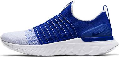 Nike React Phantom Run Flyknit 2 - Racer Blue White (CJ0277400)