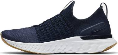 Nike React Phantom Run Flyknit 2 - Blue (CJ0277401)