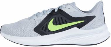Nike Downshifter 10 - Grey Fog Volt Black White (CI9981005)