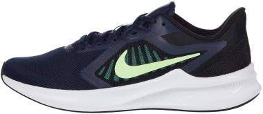 Nike Downshifter 10 - Obsidian Lime Glow Black (CI9981404)