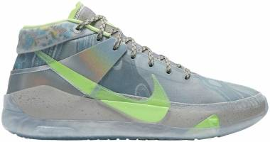 Nike KD 13 - Platinum Tint/Metallic Silver/Royal Pulse/Barely Volt (CW3159001)