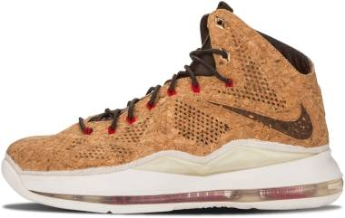 Nike LeBron 10 - Classic Brown/University Red (580890200)