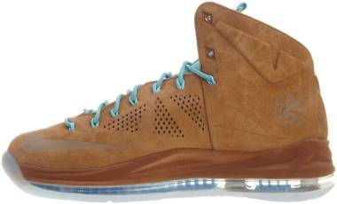Nike LeBron 10 - HAZELNUT/HAZELNUT-TD PL BL-SL (607078200)