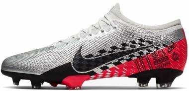 Nike Mercurial Vapor 13 Pro Neymar Jr. Firm Ground - Silver (AT7904006)