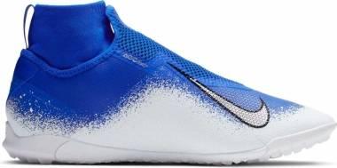 Nike React Phantom Vision Pro Dynamic Fit Turf - Racer Blue/White/Chrome (AO3277410)