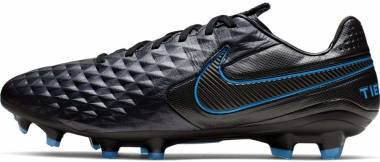 Nike Tiempo Legend 8 Pro Firm Ground - Multicolour Black Black Blue Heron 4 (AT6133004)