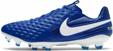 Nike Tiempo Legend 8 Pro Firm Ground - Blue (AT6133414)