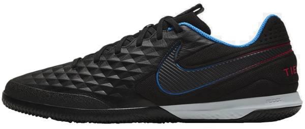Nike React Tiempo Legend 8 Pro Indoor - Black Black Siren Red Lt Photo Blue Cyber (AT6134090)