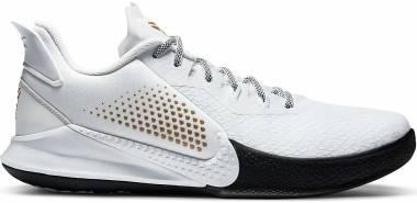 Nike Mamba Fury - White/Metallic Gold (CZ8770100)