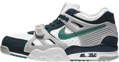 Nike Air Trainer 3 - White Midnight Turquoise Vast Grey Neptune Green (CZ3568100)