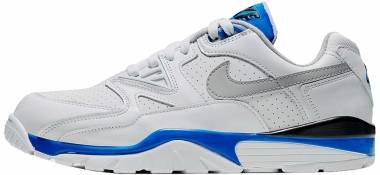Nike Air Cross Trainer 3 Low - Blanco Lt Smoke Grey Racer Blue Negro (CJ8172100)