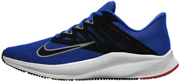 Nike Quest 3 - Racer Blue / Lt Smoke Grey / Black / Chile Red (CD0230400)