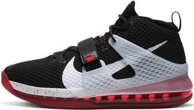 Nike Air Force Max 2 - Black White Univ Red Wolf Grey (AV6243003)