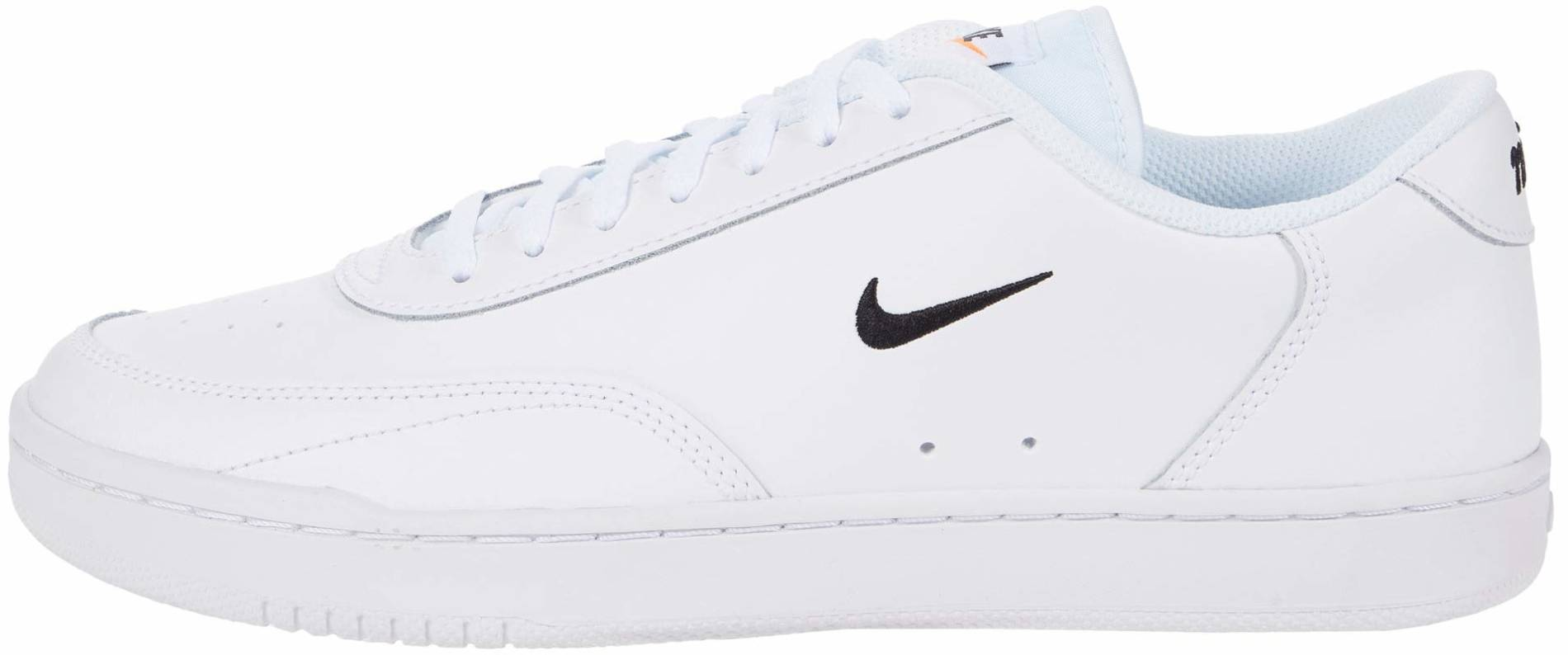 Muchos áspero Ortografía  Nike Court Vintage sneakers in white + blue (only $55) | RunRepeat