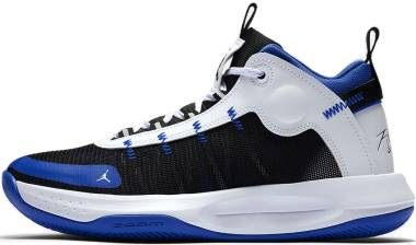 Jordan Jumpman 2020 - Racer Blue Black White Metallic Silver (BQ3449401)