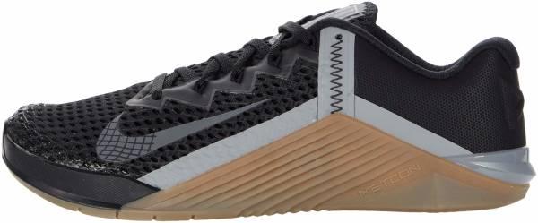 Nike Metcon 6 - Black Iron Grey Gum Dk Brown Particle Grey White (CK9388002)