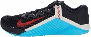 Nike Metcon 6 - Black Univ Red Lt Blue Fury Lt Bone Lt Smoke Grey (CK9388070)