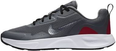 Nike Wearallday - Smoke Grey Mtlc Cool Grey Black Univ Red (CJ1682001)