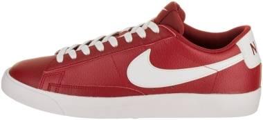 Nike Blazer Low Leather - Red (AJ9515600)