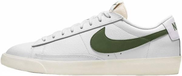 Nike Blazer Low Leather - White Forest Green Sail (CI6377108)