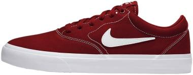 Nike SB Charge Canvas - Mystic Red/White-mystic Red (CD6279601)