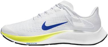 Nike Air Zoom Pegasus 37 FlyEase - White / Racer Blue / Cyber / Black (CK8474102)
