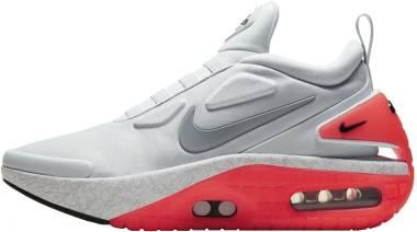 Nike Adapt Auto Max - Pure Platinum/Bright Crimson/Black/Particle Grey (CI5018002)