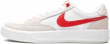 Nike SB Adversary - Bianco Rosso Universitario (CJ0887105)